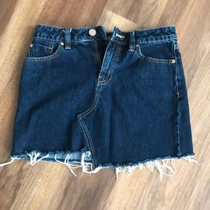 Urban Outfitters Blue Jean Mini Skirt!